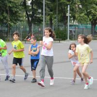 Copiii de la Liceul Miguel de Cervantes au participat la antrenamentele Start Campioni la Triatlon