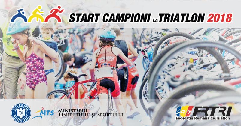 Start Campioni la Triatlon  - 17 iunie, Lacul Snagov