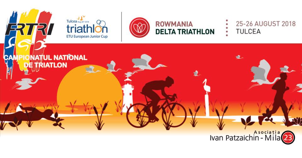 Delta Triathlon Tulcea - Campionatul National de Triatlon Olimpic - Cupa Europeana de Juniori