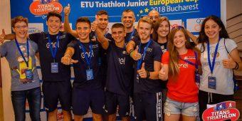 Festival de triatlon la Bucuresti