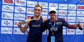 Medalie de Aur la Campionatul Mondial de Cross Triathlon