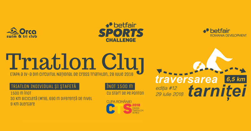 Triatlon Cluj - Betfair Sports Challenge
