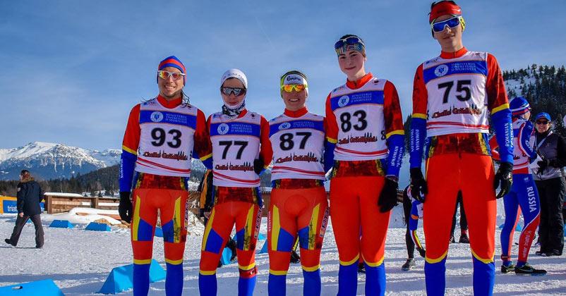 Campionatul Mondial de Wintertriathlon 2018 - premierea sportivilor de catre MTS