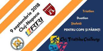 Start Campioni la Triathlon la Cluj - 9 septembrie