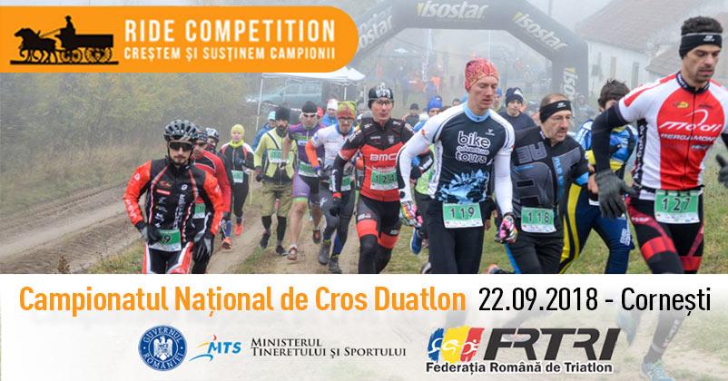 Campionatul National de Cros Duatlon, 22 septembrie 2018, Iarcuri Cornesti