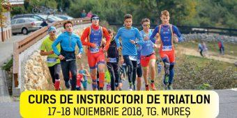 Curs instructori de triatlon, 17-18 noiembrie Tg. Mures