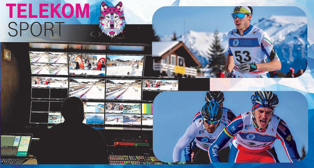 Campionatele Europene de Winter Triatlon, televizate live în România, de Telekom Sport