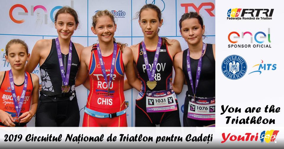 YouTri - Circuitul National de Triatlon pentru Cadeti 2019