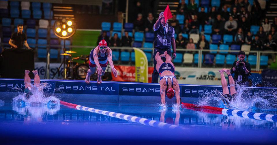 Spectacol maxim la Cupa Europeana de Triathlon de la Lievin