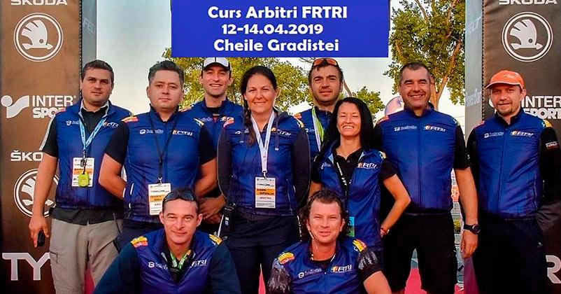 Curs de Arbitru de triatlon organizat de FRTRI
