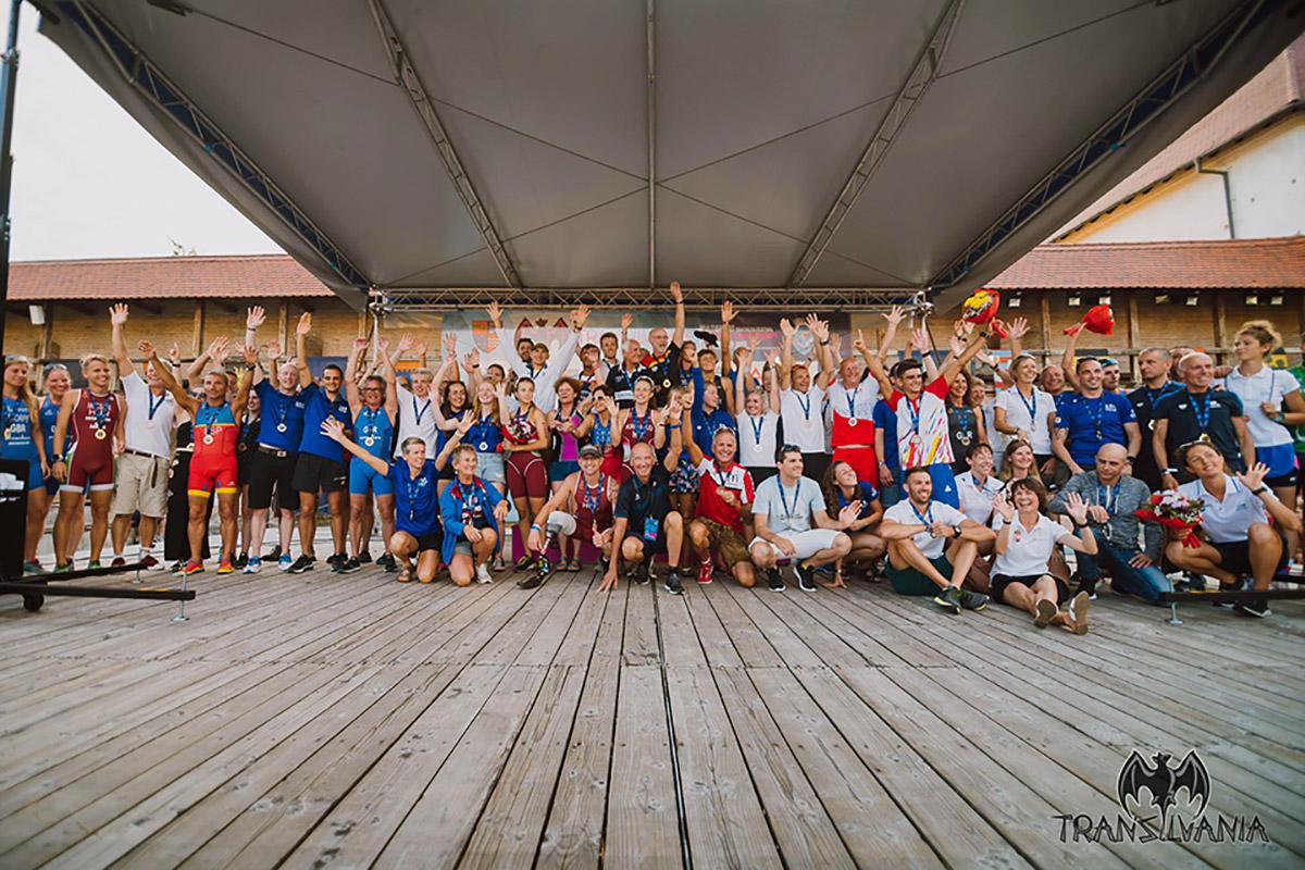 Campionatele Europene de Triatlon Multisport de la Targu Mures - rezultate