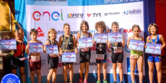 Campionatul National de Stafeta Mixta si SuperSprint Triatlon Izvorani 2019